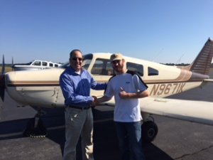 Brandon McCool soloed on 11.3.16 at the Statesboro Bulloch County Airport.